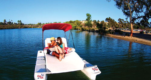 funcat electric catamaran